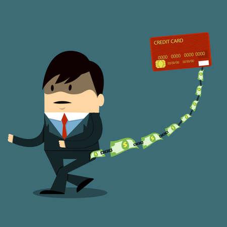 빚: 빚 일러스트