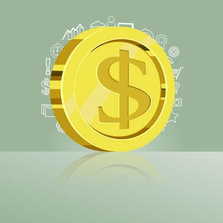 us coin: Moneda del d�lar