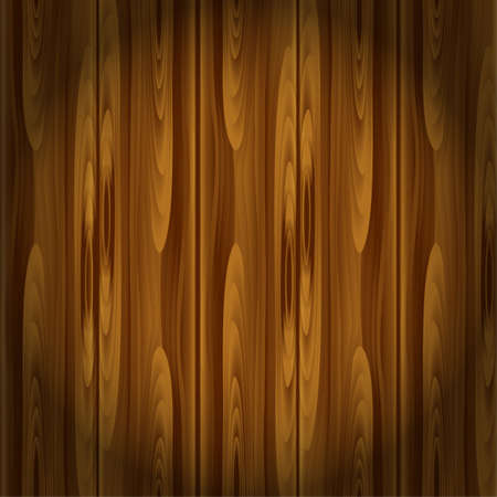 The Natural Dark Wooden Background Vector