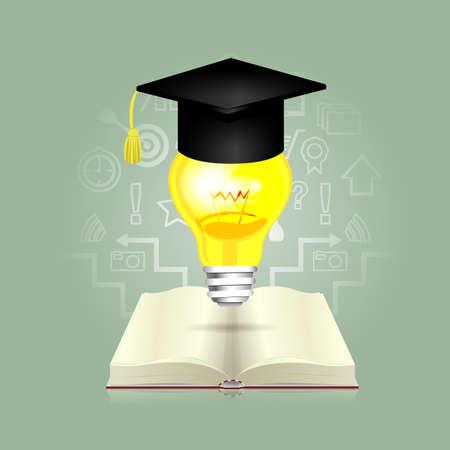 vzdělání: Vzdělávání Ilustrace