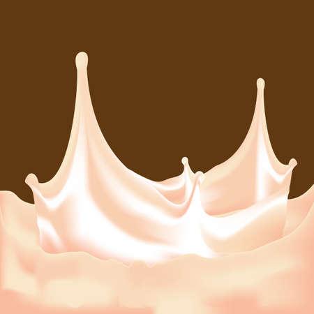 soya: chocolate milk, hot chocolate or milkshake splash
