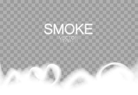 Smoke and Isolated background Illustration