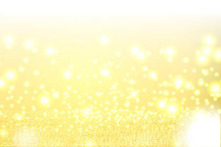 Sparkling Crystal and Bokeh Background, vector illustration Illustration