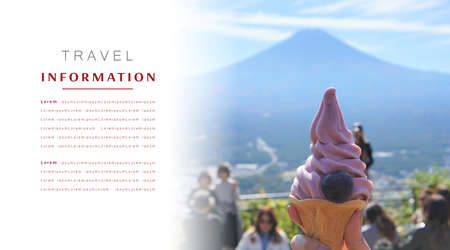Kawaguchiko, Japan, Fujisan, Kawaguchiko is a beautiful town, travel concept, information travels