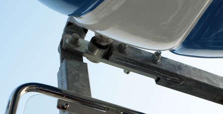 articulation: Steel joints of Ferris wheel