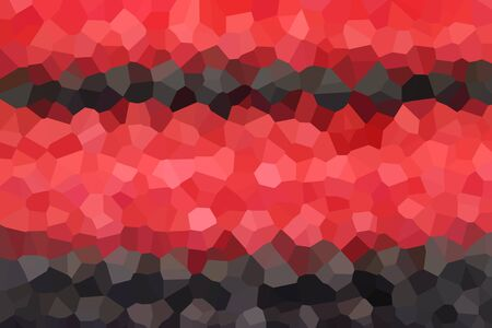 pixelate: crystallize red brown,black background Stock Photo