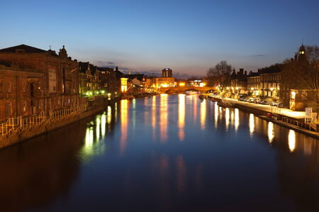 ouse: The River Ouse in the city of York