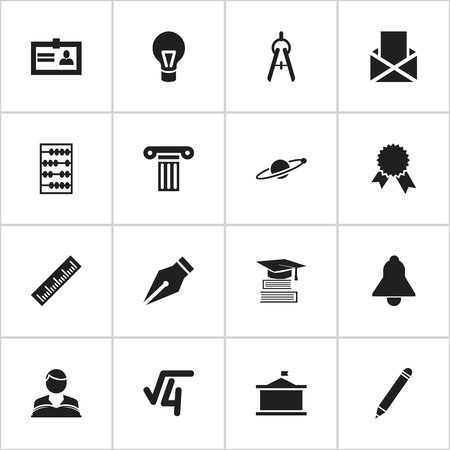 perusal: Set Of 16 Editable Science Icons. Includes Symbols Such As Certification, Astrology, Univercity And More. Can Be Used For Web, Mobile, UI And Infographic Design.