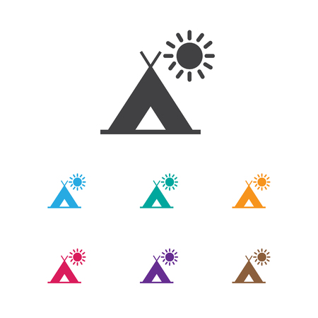 Vector Illustration Of Travel Symbol On Trip Icon. Premium Quality Isolated Travel Element In Trendy Flat Style.