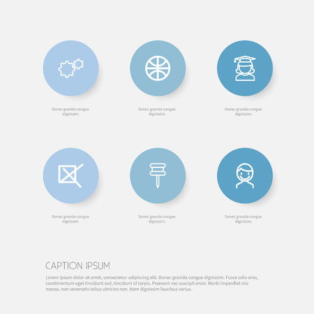 deny: Set Of 6 Editable Science Icons. Includes Symbols Such As Mark, Male, Sport And More. Can Be Used For Web, Mobile, UI And Infographic Design.