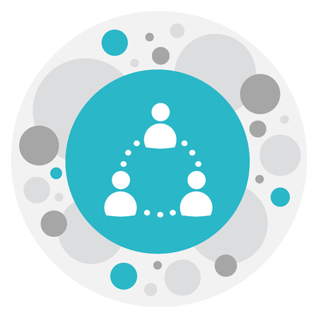Vector Illustration Of Analytics Symbol On Communication Icon. Premium Quality Isolated Transmission Element In Trendy Flat Style. Illustration