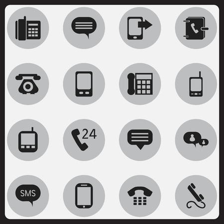 gps device: Set Of 16 Editable Gadget Icons. Includes Symbols Such As Tablet, Transceiver, Mobile And More. Can Be Used For Web, Mobile, UI And Infographic Design.
