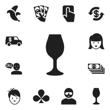 clothing store: Set Of 12 Editable Excitement Icons. Includes Symbols Such As Boy, Thief, Dollar And More
