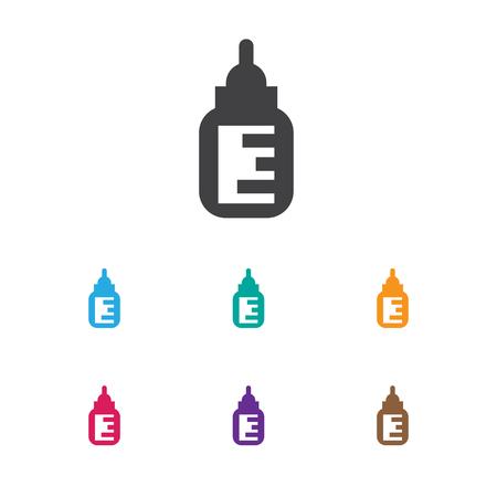 Vector Illustration Of Kid Symbol On Feeder Icon Ilustração