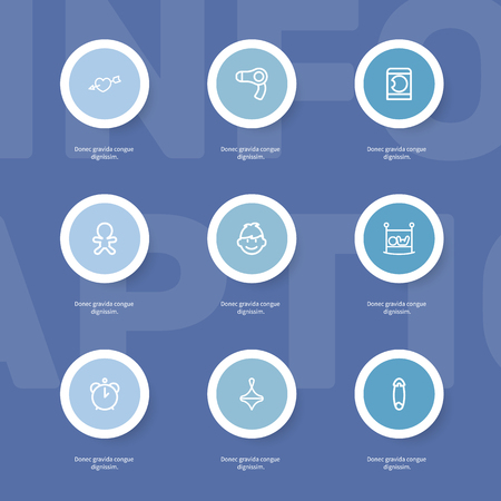 Set Of 9 Editable Folks Outline Icons. Includes Symbols Such As Wizard, Son, Gyroscope And More. Can Be Used For Web, Mobile, UI And Infographic Design.