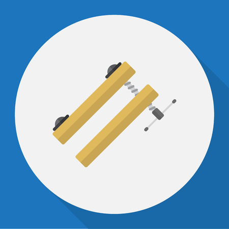 Vector Illustration Of Tools Symbol On Clinch Flat Icon