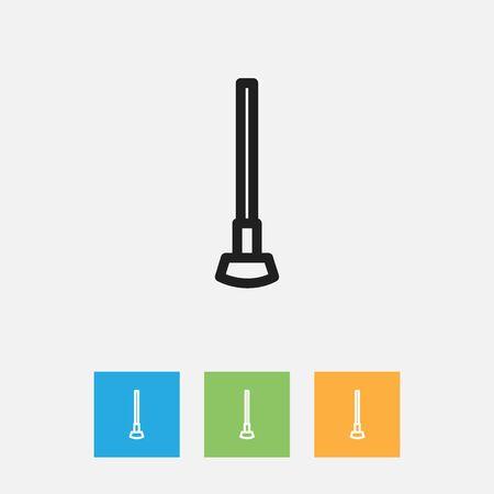 Vector Illustration Of Apparatus Symbol On Equipment Outline Illustration