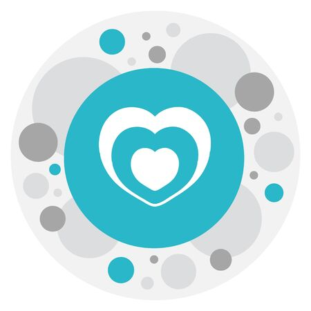 Vector Illustration Of Passion Symbol On Romance Icon