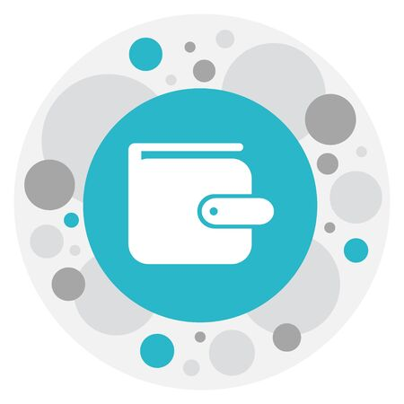 Vector Illustration Of Banking Symbol On Wallet Icon