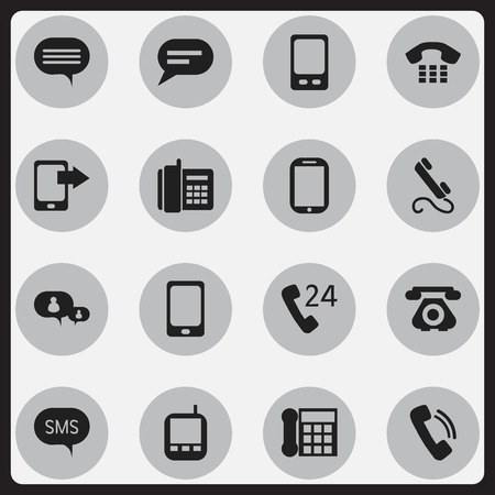 gps device: Set Of 16 Editable Device Icons. Includes Symbols Such As Tablet, 24 Hour Servicing, Phone And More. Can Be Used For Web, Mobile, UI And Infographic Design.