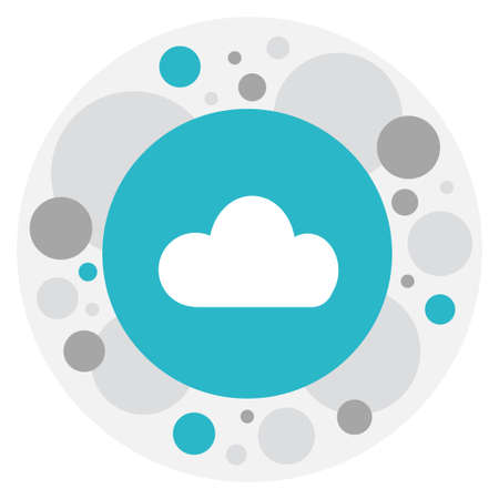 wap: Vector Illustration Of Internet Symbol On Cloud Icon. Premium Quality Isolated Sky Element In Trendy Flat Style.