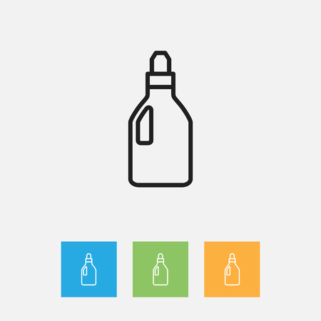 Vector Illustration Of Hygiene Symbol On Laundry Detergent Outline Royalty Free Cliparts Vectors And Stock Image 82767473