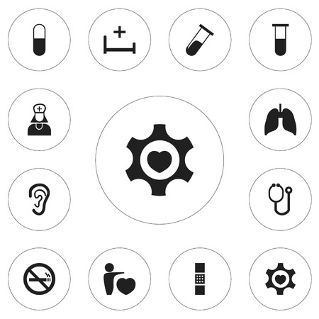 forbidden love: Set Of 12 Editable Clinic Icons. Includes Symbols Such As Hospital Assistant, Human Love, Stop Smoke And More. Can Be Used For Web, Mobile, UI And Infographic Design.
