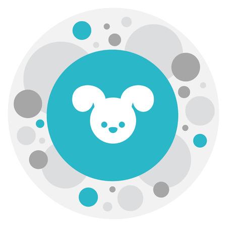 kin: Vector Illustration Of Kin Symbol On Dog Icon Illustration