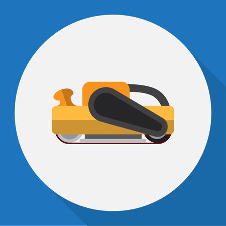 Vector Illustration Of Instruments Symbol On Sander Flat Icon Illustration