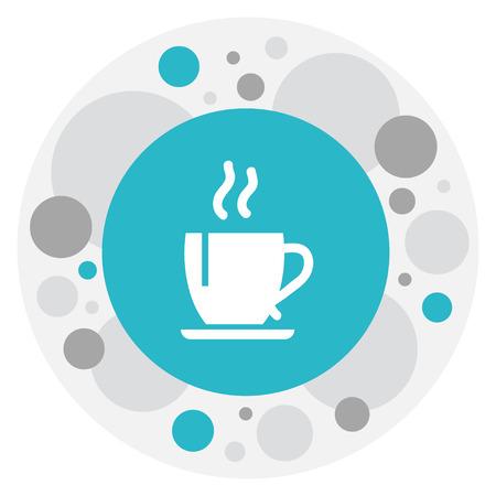 Vector Illustration Of Cooking Symbol On Tea Icon Illustration