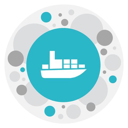 Vector Illustration Of Shipment Symbol On Shipment Icon