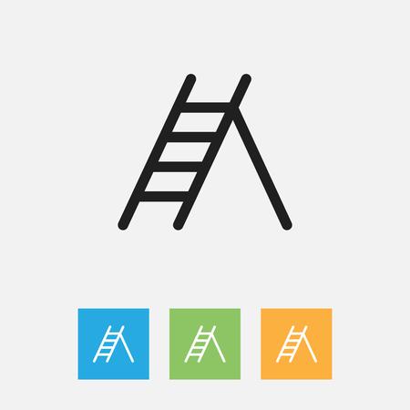 Vector Illustration Of Instrument Symbol On Ladder Outline