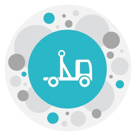 Vector Illustration Of Structure Symbol On Pickup Icon