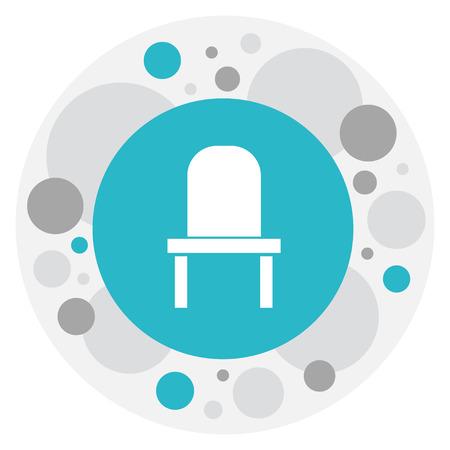 Vector Illustration Of Furnishings Symbol On Bench Icon