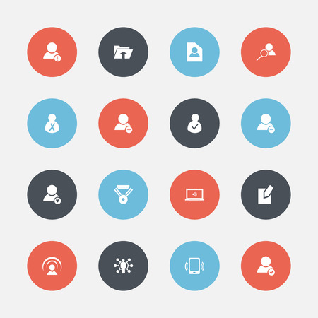 Set Of 16 Editable Global Icons. Includes Symbols Such As Medal, Skill, Approve User And More