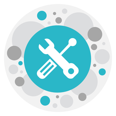 Vector illustratie van gereedschap symbool op Toolkit pictogram