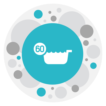 Vector Illustration Of Hygiene Symbol On Hot Water Icon