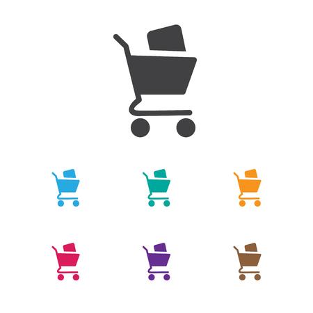 ショッピングお買い得のアイコンをシンボルのイラスト
