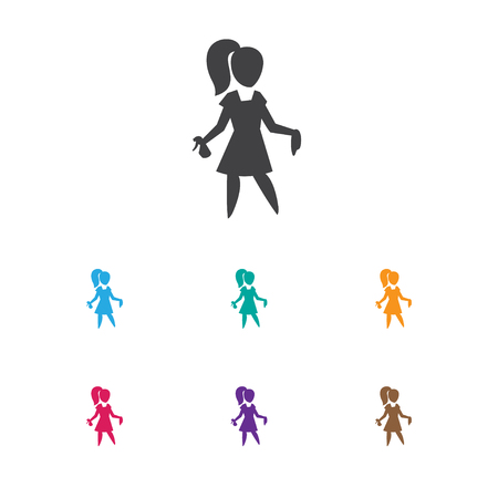 Vector Illustration Of Cleaning Symbol On Beauty Housewife Icon Illustration