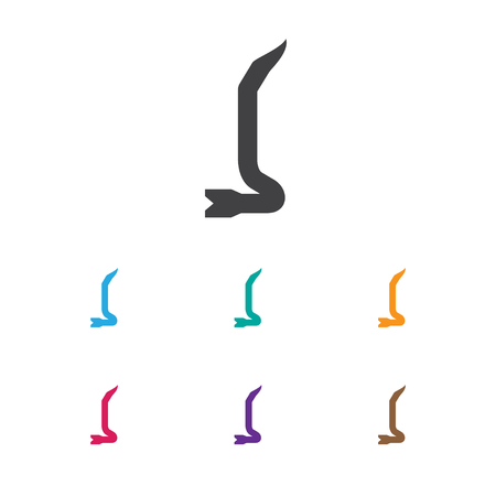 Vector Illustration Of Tools Symbol On Crowbar Icon
