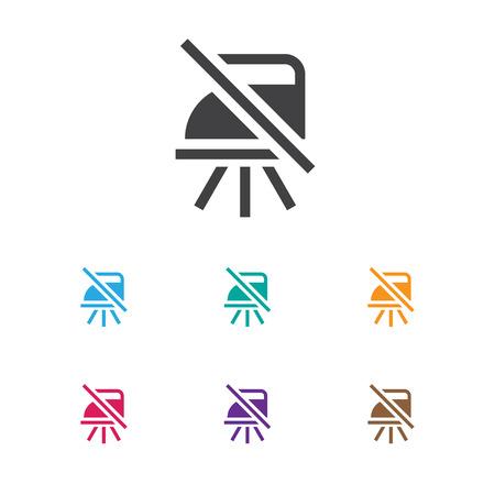 Vector Illustration Of Hygiene Symbol On Caution Icon