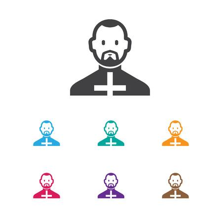 Reverend pictogram.