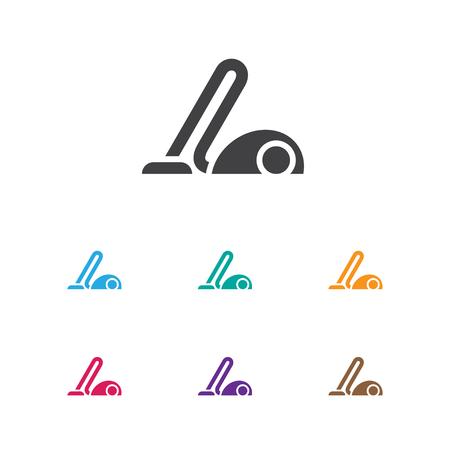 Vector Illustration Of Hygiene Symbol On Hoover Icon