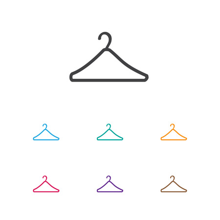 suspender: Vector Illustration Of Trade Symbol On Suspender Icon. Premium Quality Isolated Hanger Element In Trendy Flat Style.