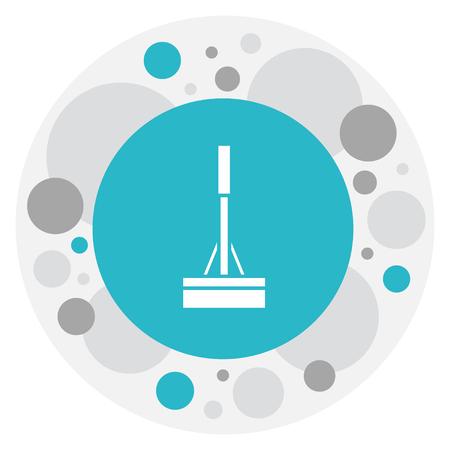 Illustration Of Hygiene Symbol On Swob Icon.