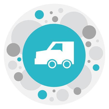 Illustration of Transportation Symbol icon. Illustration