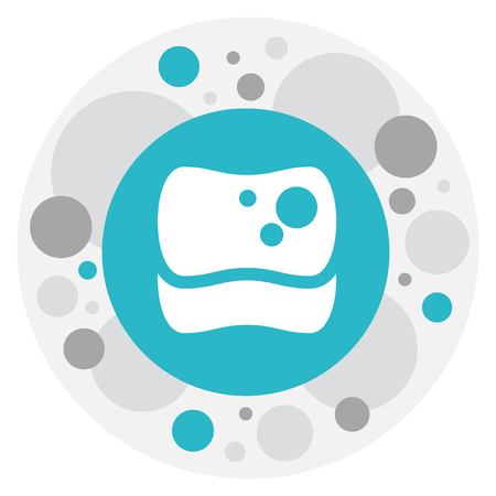 Cleaning Symbol On Sponge Icon