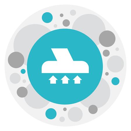 Sweeper Icon Illustration