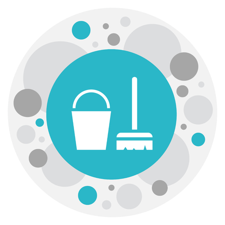 Vector Illustration Of Hygiene Symbol On Abstergent Icon