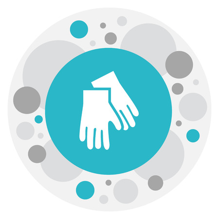 Illustration Of Cleaning Symbol On Hygiene Icon.